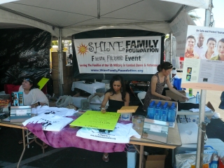 Fundraising at Fiesta Filipino 2011
