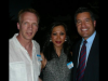 Founders, Les and Rowena Krifaton with Gov. Brian Sandoval.